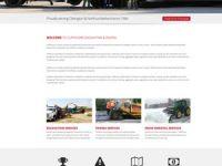 Paving & Excavating company website design