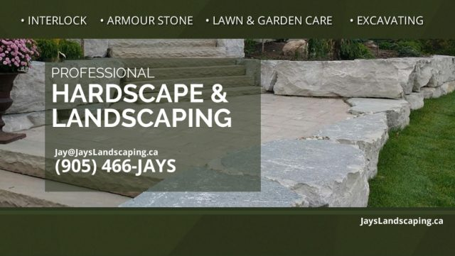 Landscape company website design